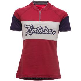 Zimtstern Benitaz Kortærmet cykeltrøje Damer rød/violet
